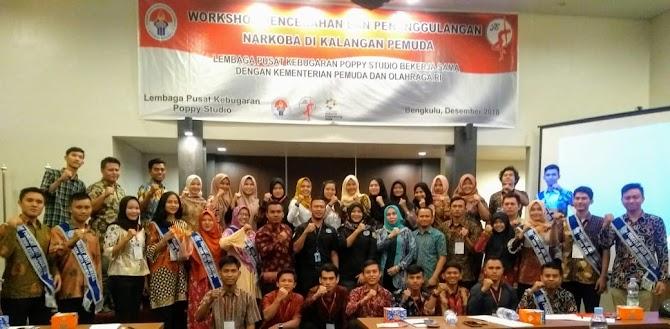 Kemenpora  Gelar Workshop Bersama Relawan dan Penggiat Anti  Narkoba Bengkulu