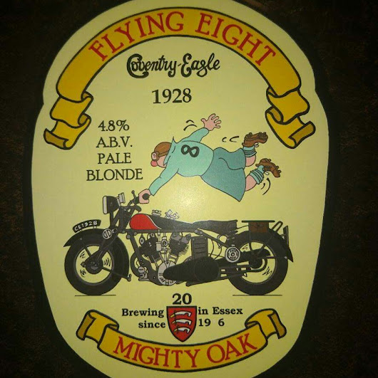 Essex Craft Beer Review: Flying Eight from Mighty Oak