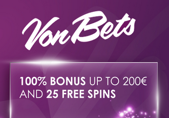 Vonbets Casino Screen