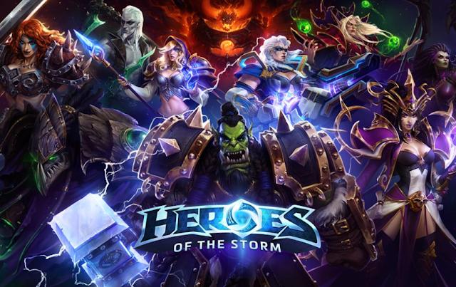 Game Heroes Storm ini sangat unik. Hal ini dikarenakan game Heroes Storm mengusung genre MOBA yang dikombinasikan dengan Action Fantasy RPG.