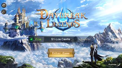 Daybreak Legends 3D MMORPG v1.0.17.215 Mod Apk Terbaru
