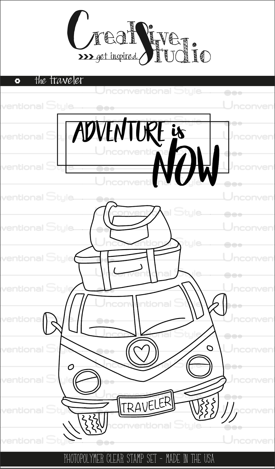 clear stamps - The Traveler