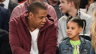 Blue Ivy Speak to her Dad Jay-z,Here's What She Said