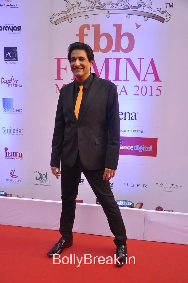 Shiamak Davar, Femina Miss India 2015 Red Carpet Photo Gallery