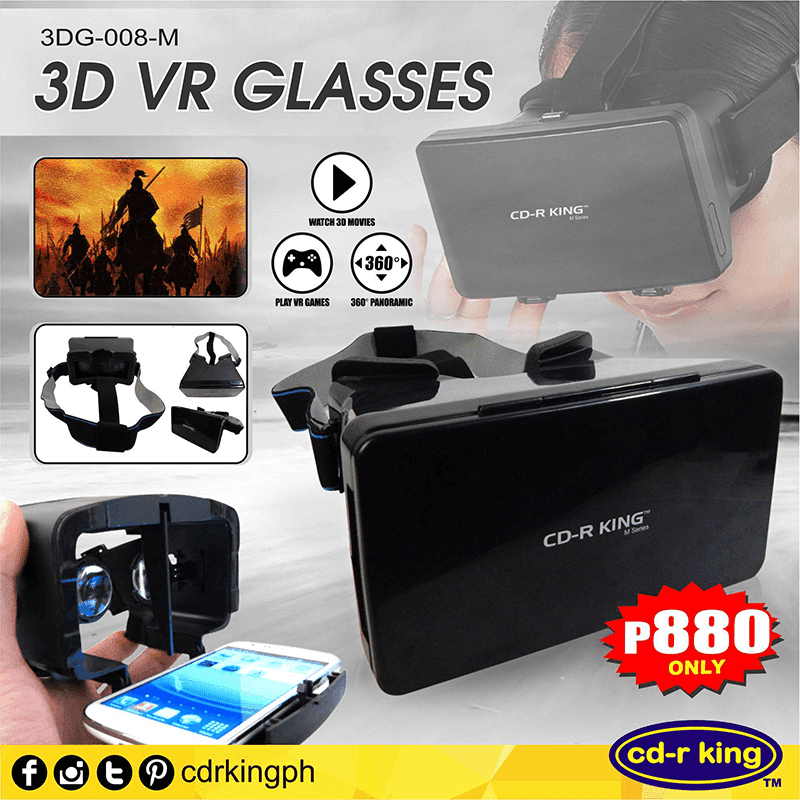 CD-R King Outs 3D VR Glasses!