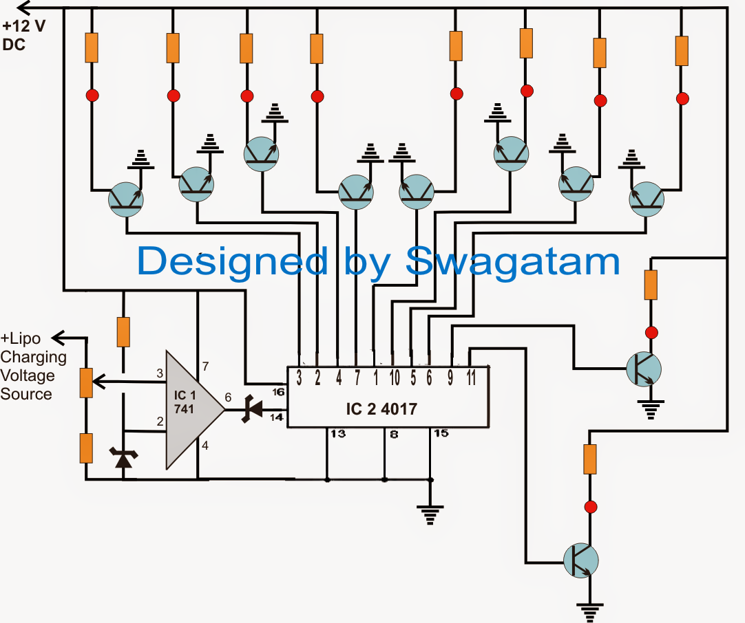 Lithium Ion Cell Diagram 7 Pin Small Round Trailer Plug Wiring Lipo Battery Balance Charger Circuit
