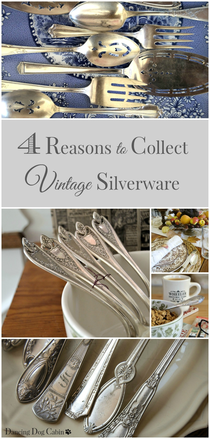 4 reasons for collecting vintage silverware