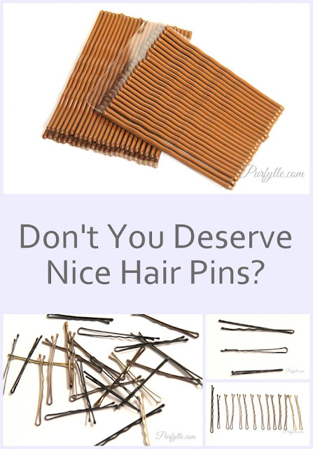 Don't you deserve nice new hair pins?