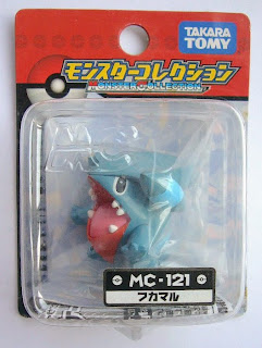 Gible figure Tomy Monster Collection MC series