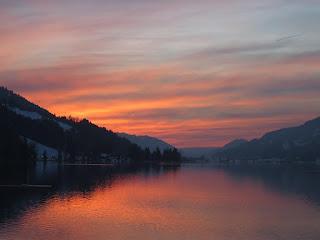 Sonnenuntergang am Alpsee | www.zeitunschaerfe.de