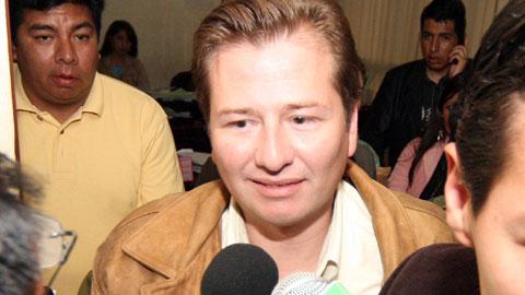 Peter Sueldo fue parte de las administraciones Banzer y Quiroga / ARCHIVO 2010 APG