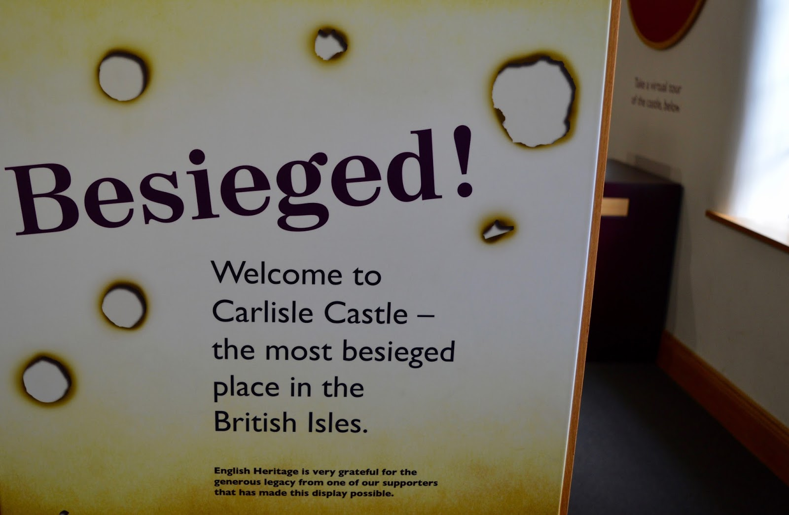 Great Days Out with Northern  | Our Day Trip to Carlisle by Train - Carlisle Castle Besieged Exhibition
