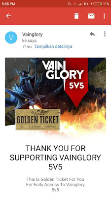 How to Get Golden Ticket Vainglory 5v5