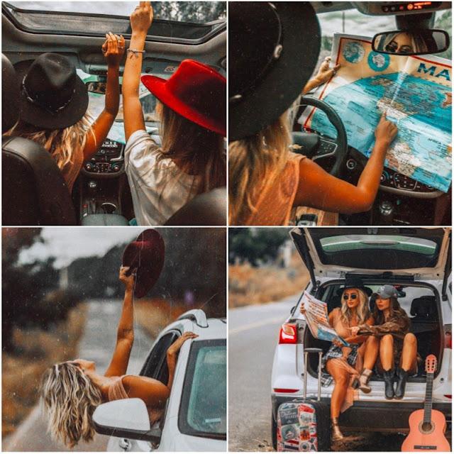 Como fazer fotos Legais viajando de carro