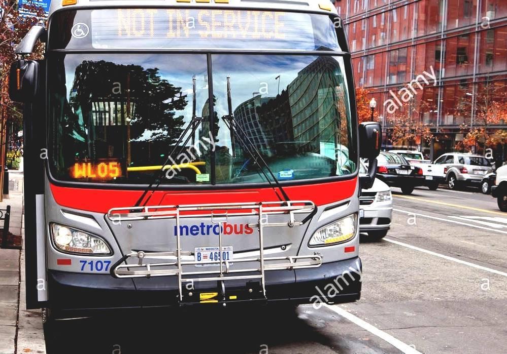 List Of Metrobus Routes (Washington, D C ) - Bus In