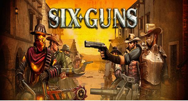 تحميل لعبة Six-Guns mod for android للاندرويد (مهكرة)