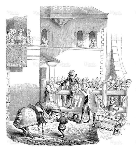 Degradação de um cavaleiro