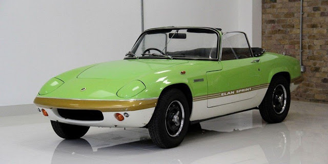 Lotus Elan 1970s British classic sports car