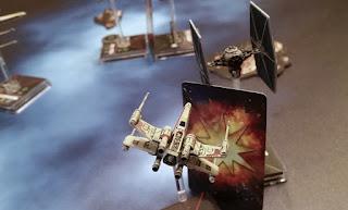 Fantasy Flight X-Wing Miniatures Game Magnet K&J Magnetics ball and gimbel TIE Fighter