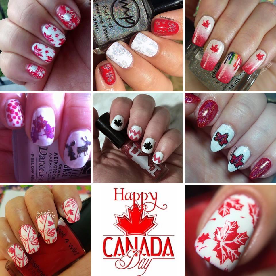 Nail Experiments Canada Day Nail Art Collab