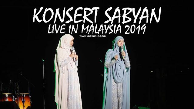 KONSERT SABYAN LIVE IN MALAYSIA 2019 MERIAH