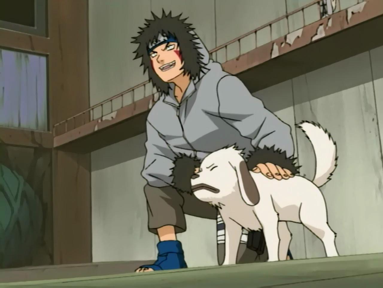 Naruto Uzumaki vs Kiba...