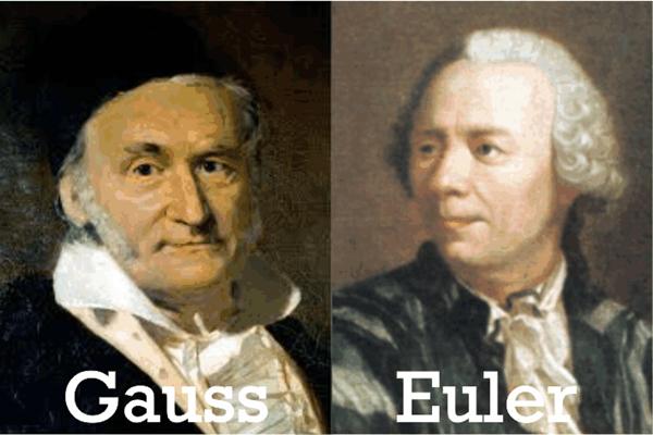 Um pouco de Álgebra com Euler e Gauss