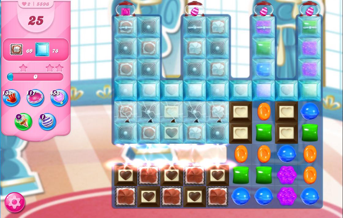 Candy Crush Saga level 5596