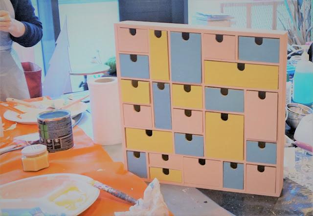 fabrication de calendrier de l'avent chez zodio