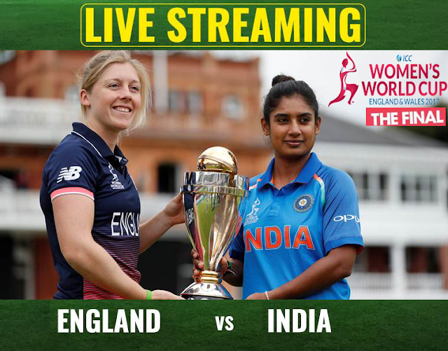India vs England, ICC Women's Cricket World Cup 2017 final