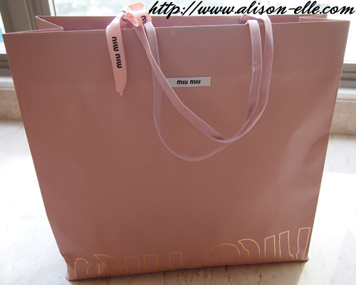 c2d65b6c4e95 Bag Reveal  Miu Miu Mini Bow