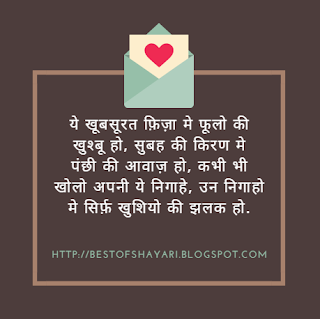 Good Morning Hindi Shayari Images