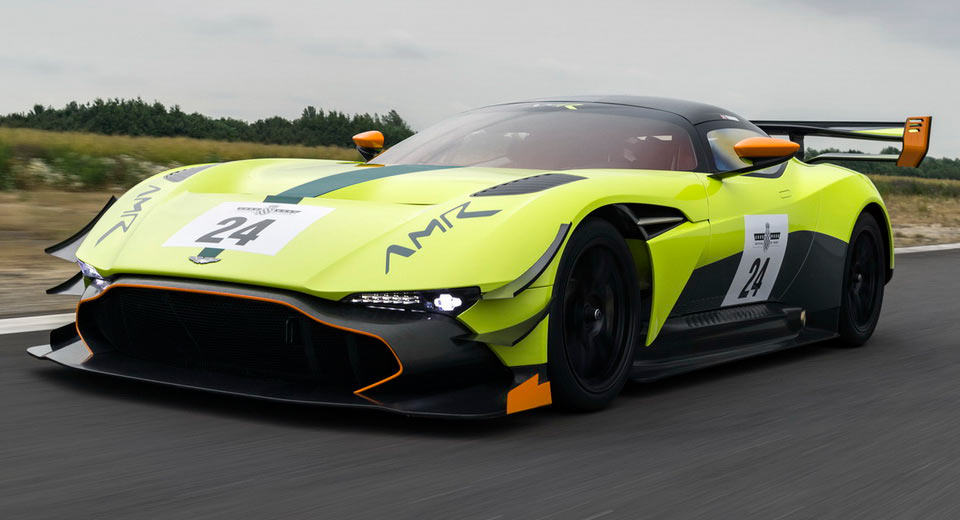 Aston Martin Vulcan AMR Pro is Now at Goodwood Festival