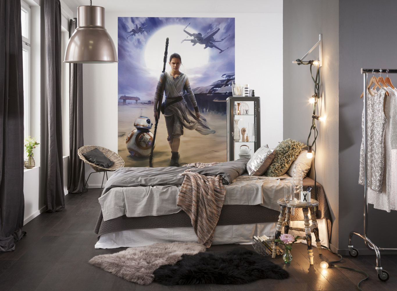 Star Wars Bedroom Decorations Inspiration For Childrens 2