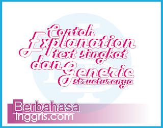 22 Contoh Explanation Text Singkat