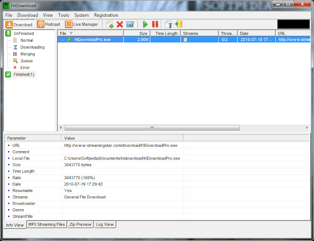 برنامج تسريع التحميل للكمبيوتر 2015 HiDownload Pro 7.87
