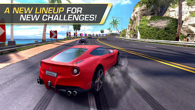 Free Download Game Asphalt 7 Heat mod Apk Data