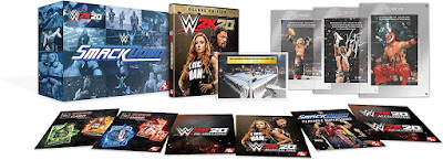 Wwe 2k20 Game Cover Ps4 Smackdown 20th Anniversary Edition Box Set