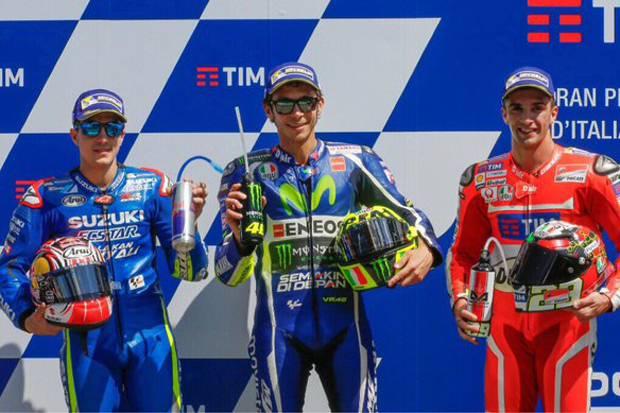 Rossi Kirim WhatApp Pada 4 Pembalap, Untuk Menggagu Marquez