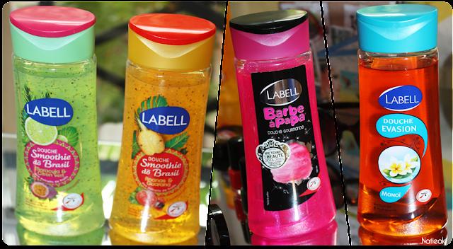 Labell smoothie do Brazill, barbapapa et Monoi douche evasion