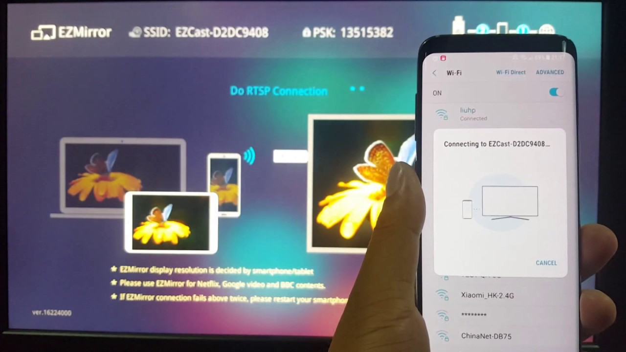 How to Connect Samsung Galaxy S8 to TV | Techmini24.com.ng