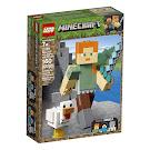 Minecraft Alex With Chicken BigFig Set