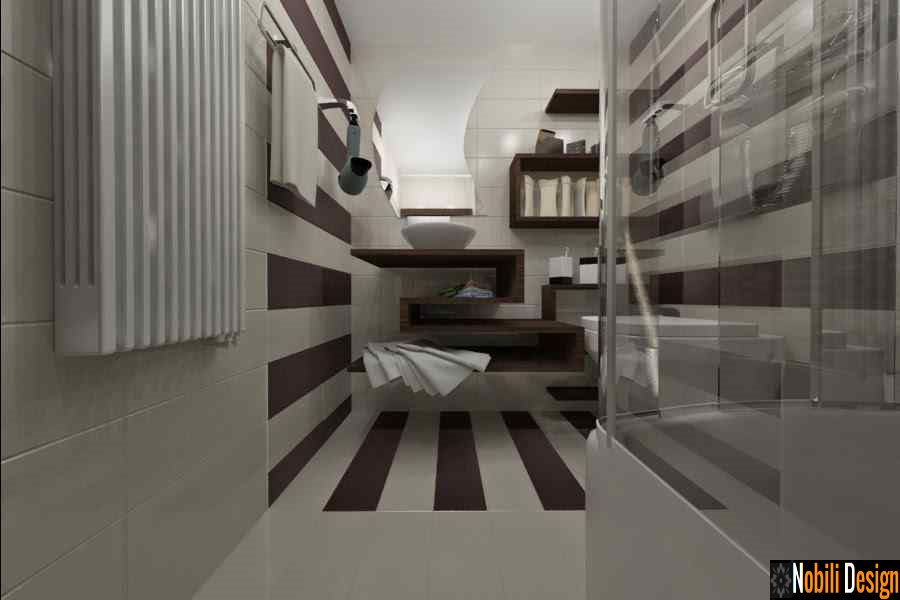 Design interior baie apartament modern - Arhitect / Design interior Bucuresti