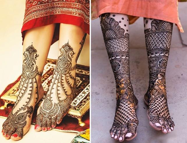 Feet Bridal Mehndi