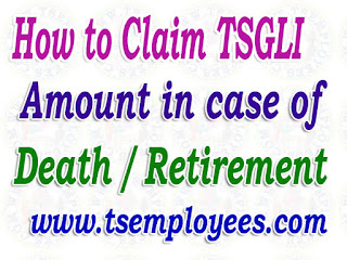 How to Claim Telangana TSGLI Amount Death / Retirement