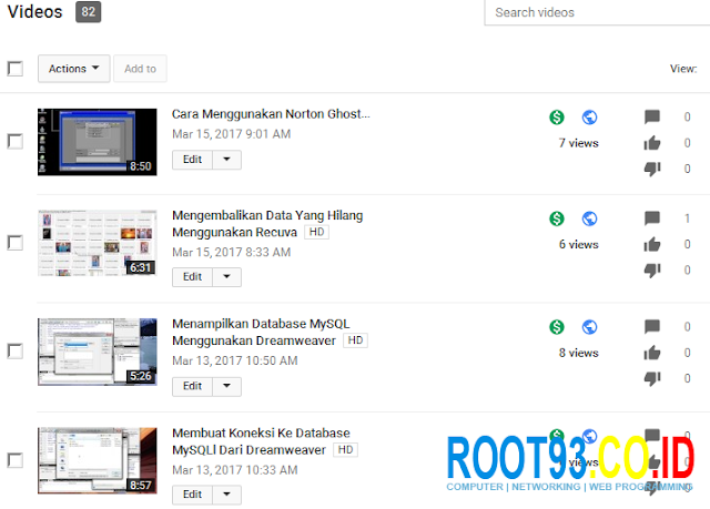 video youtube sudah di monetize