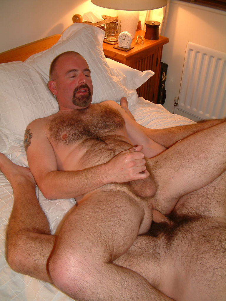 Fuck naked a woman hairy men