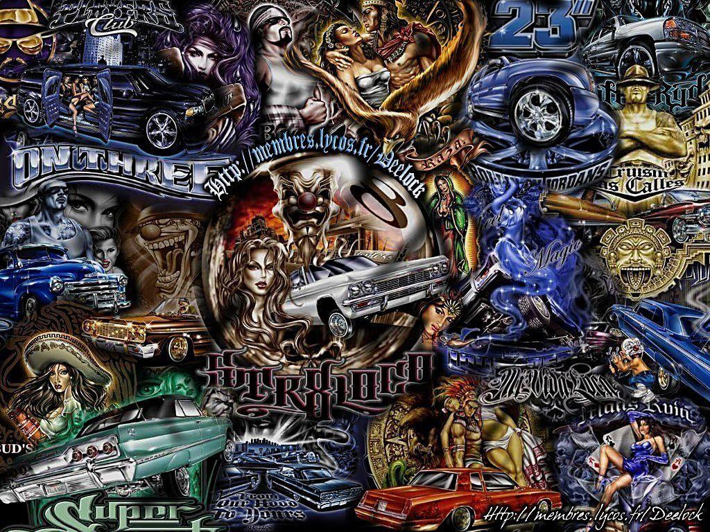 Lowrider grafiks artwork - Chicano pride images ...