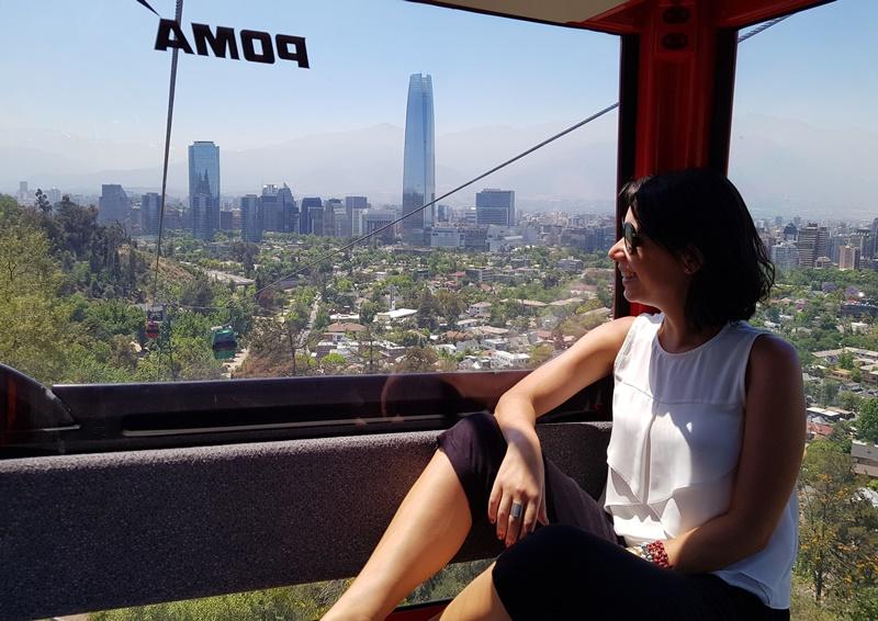 Como subir o Cerro San Cristobal Santiago