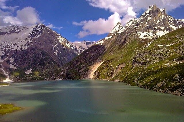 Sheshnag Lake  - a mountain lake